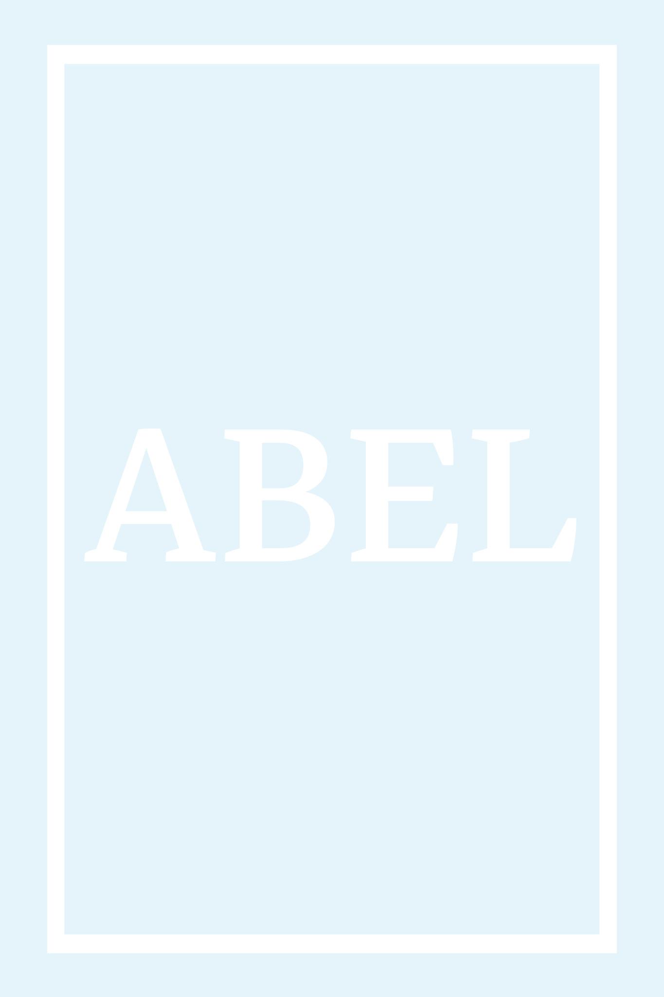 Play Carpet // Blue White - Full Name Portrait