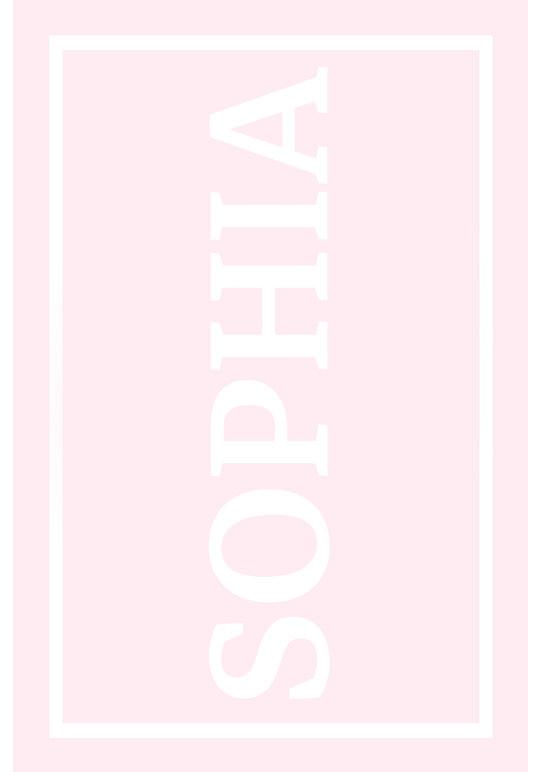 Play Carpet // Pink White - Full Name Landscape