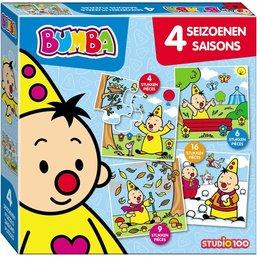 Puzzle Bumba - Saisons, 4 en 1