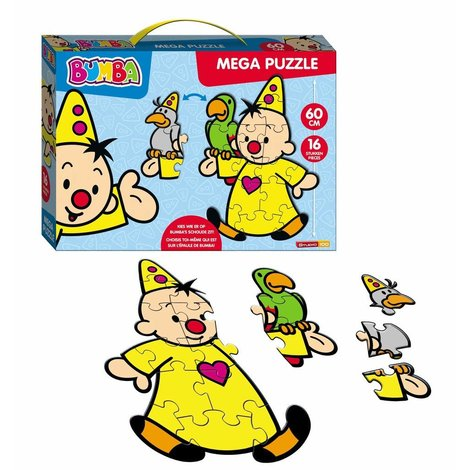 Puzzle de sol Bumba - 16 pièces