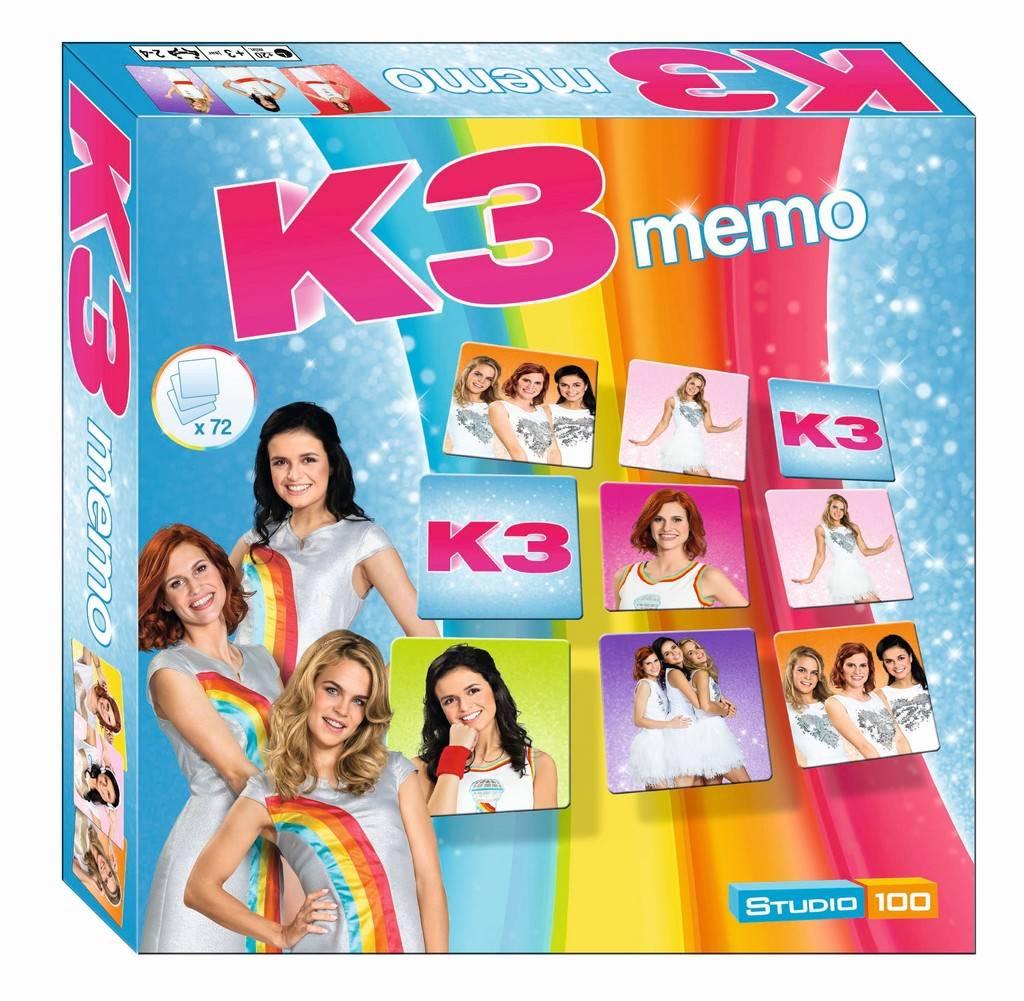 Jeu de mémo K3