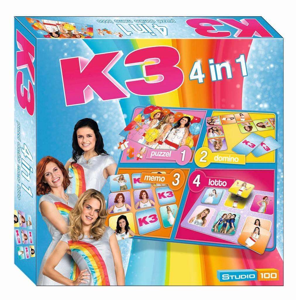 Jeu K3 - 4 en 1