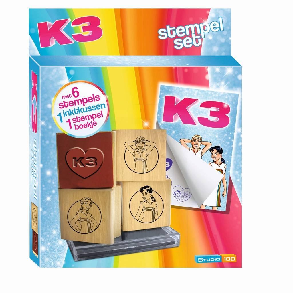 K3 stempelset - De nieuwe K3
