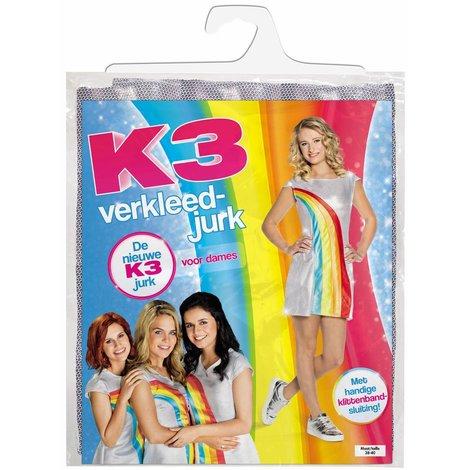 K3 Verkleedjurk: Regenboog