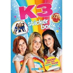 K3 Stickerboek - De nieuwe K3