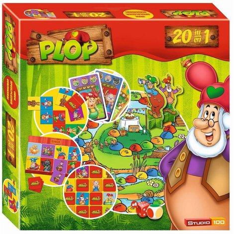 Boîte de jeux 20 en 1 Plop
