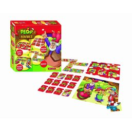Boîte de jeux 4 en 1 Plop