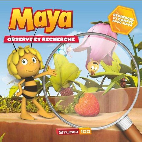 Livre Maya: Observe et cherche