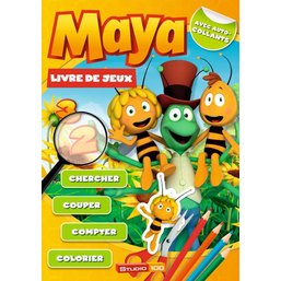 Livre Maya l'abeille - livre de jeu