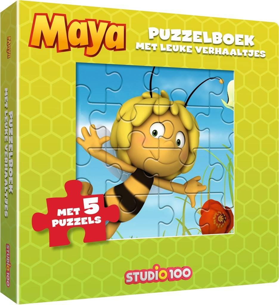 Maya de Bij Boek-Puzzelboek met verhaaltjes
