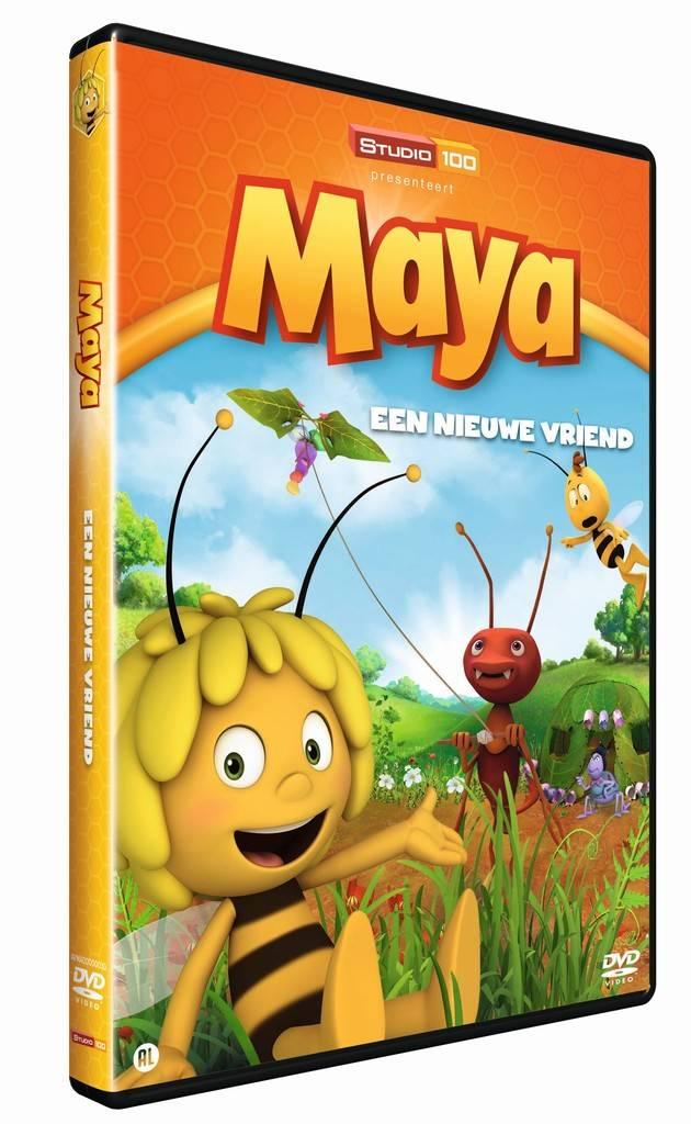 Maya de Bij DVD - Een nieuwe vriend