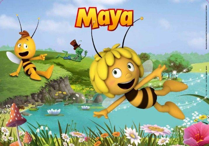 Set de table Maya l'abeille