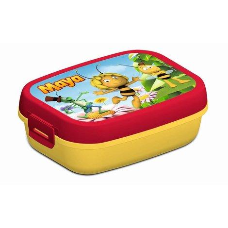 Boîte à  tartines Maya l'abeille - rouge