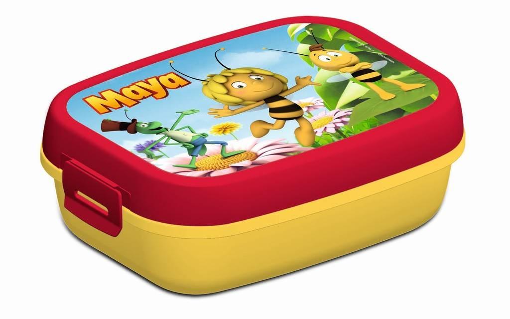 Maya de Bij Lunchbox - Rood