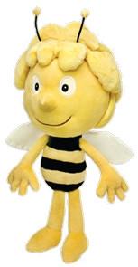 Peluche Maya l'abeille - Maya, 40 cm