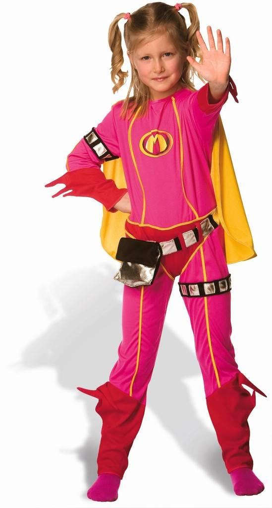Studio 100 Mega Mindy Costume And Cap (3 - 5 Years)