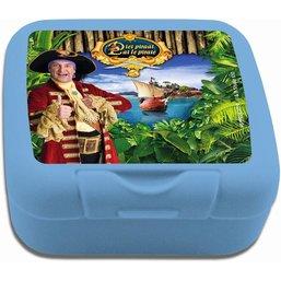 Boîte à biscuits Pat le Pirate - bleue