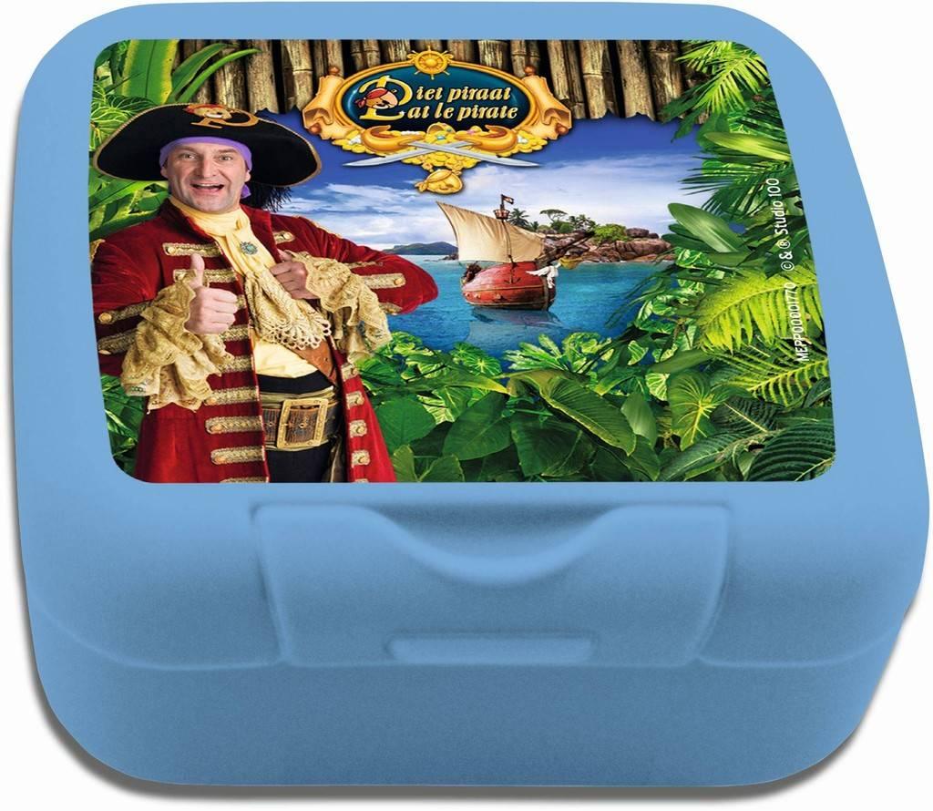 Piet Piraat Koekendoosje - Blauw
