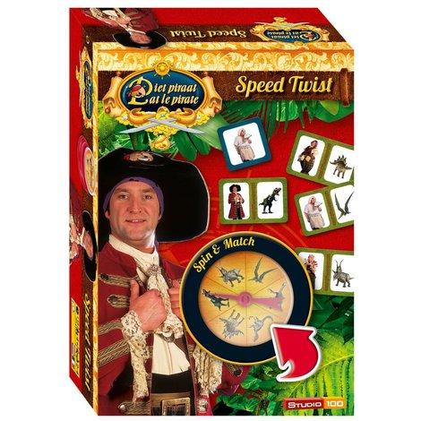 Piet Piraat Reisspel - Speed twist