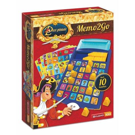 Piet Piraat Spel - Memo2go