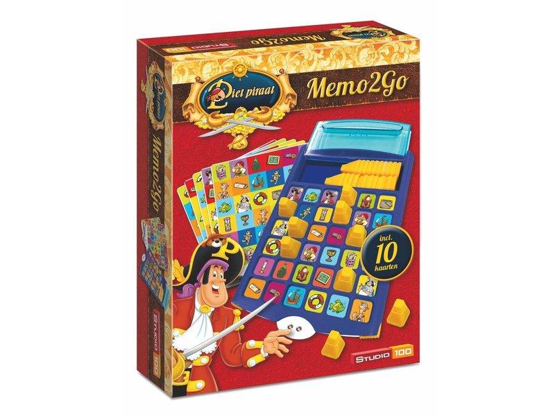 Verrassend Piet Piraat Spel - Memo2go - Studio 100 Webshop TF-59