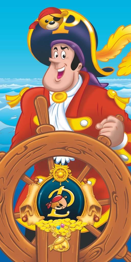 Serviette de bain Pat le Pirate - 75x110 cm