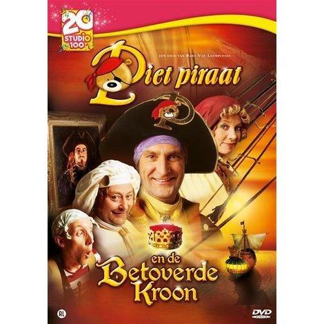 Dvd Piet Piraat: betoverde kroon - 20 jaar S100