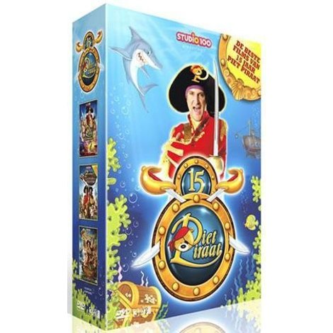 Dvd box Piet Piraat: Piet Piraat toppers