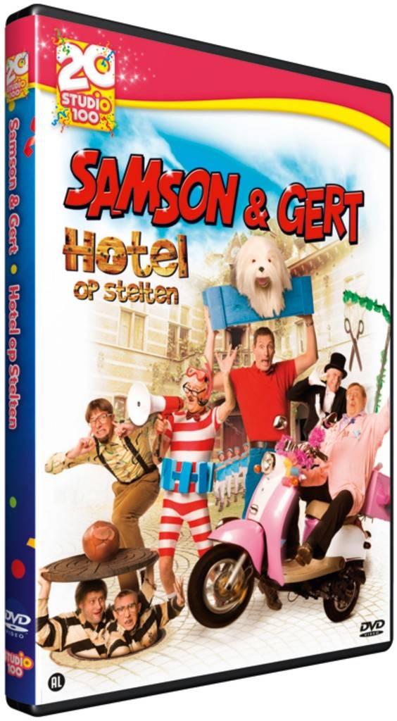 Samson & Gert DVD- Hotel stelten- 20 jaar S100