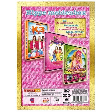 Studio 100 3-DVD box - Hippe meiden