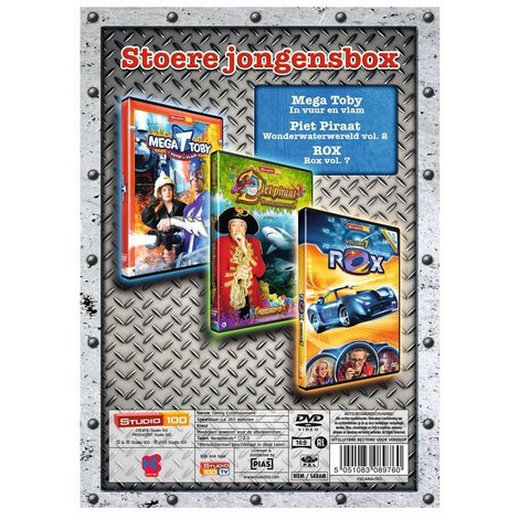 Studio 100 DVD box- Hippe jongens