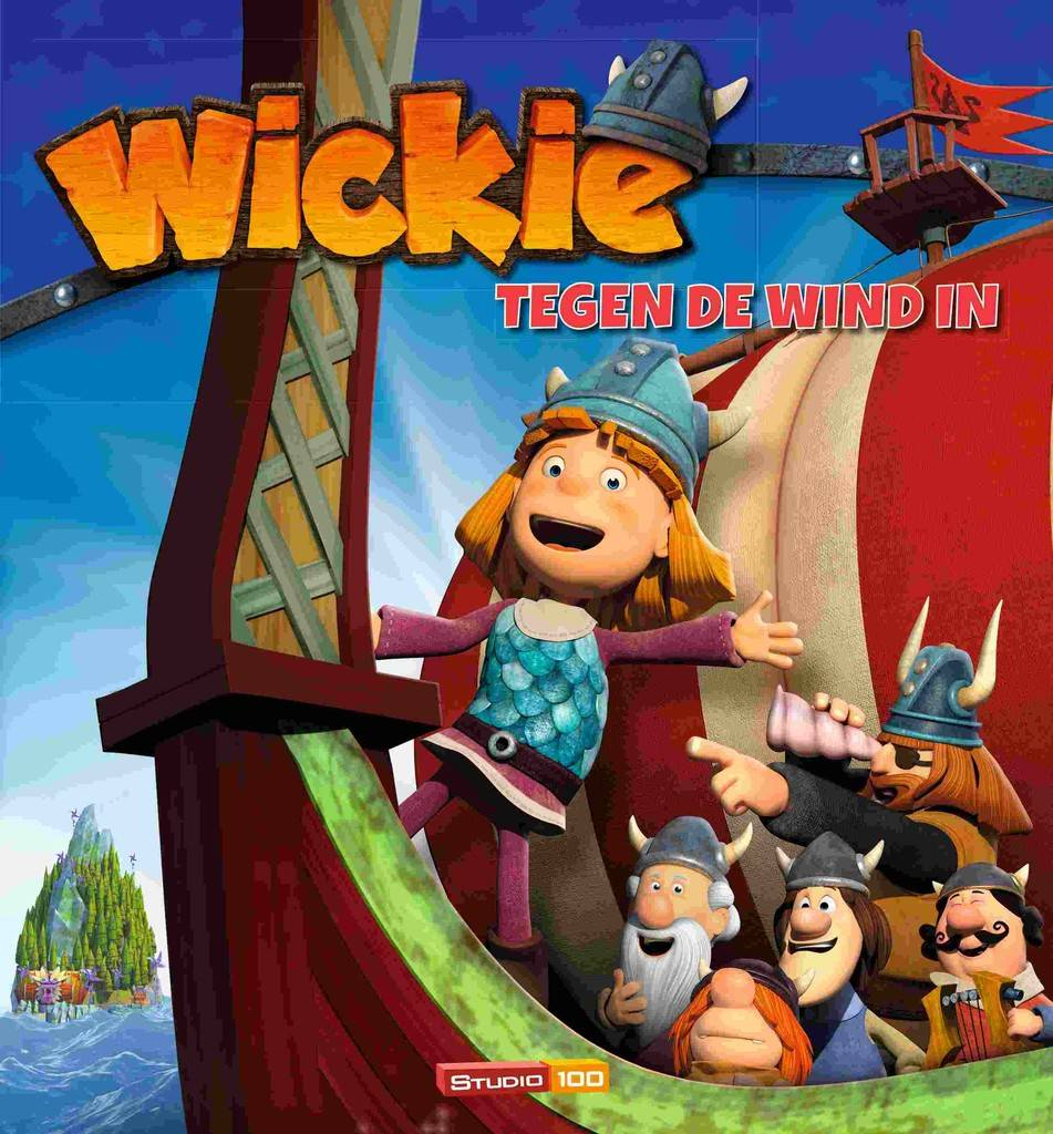Wickie de Viking Boek - tegen de wind in