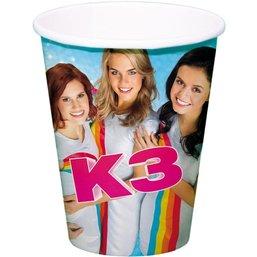 K3 Beker - 8 stuks