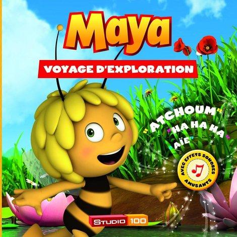 Livre audio Maya l'abeille - Voyage d'exploration