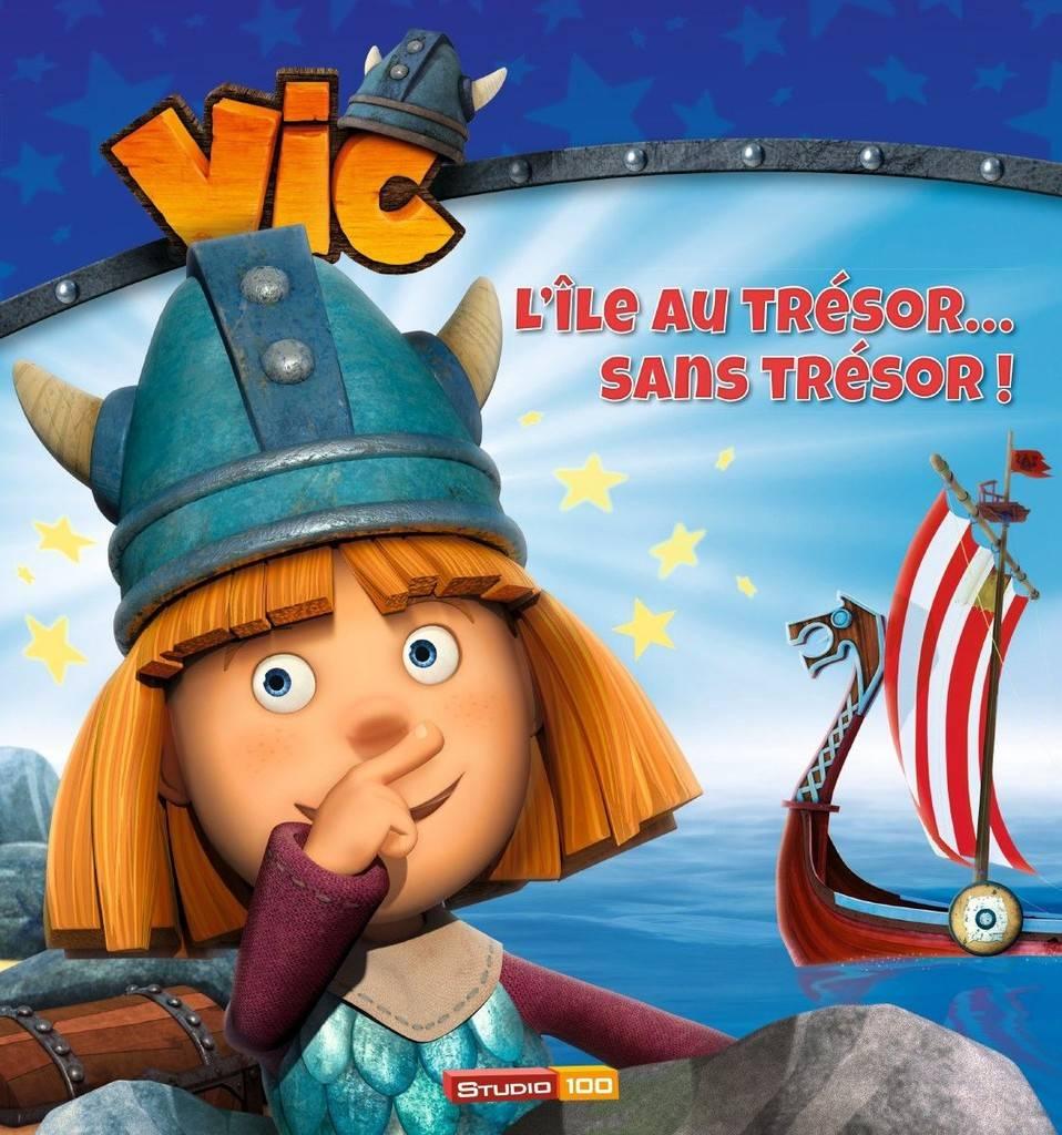 Livre Vic le Viking - L'île au trésor sans trésor