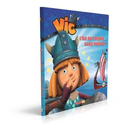 Livre Wickie: Lile au tresor sans tresor