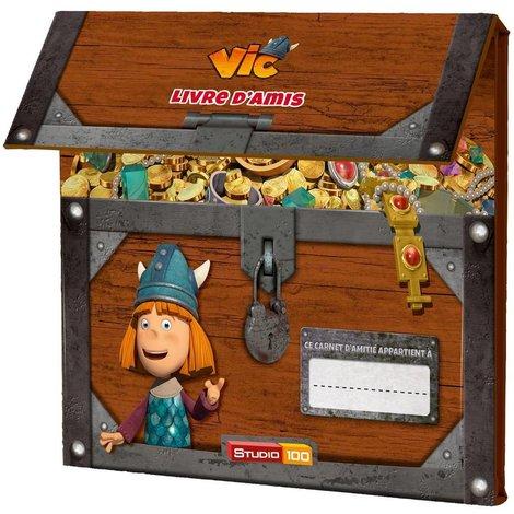 Carnet de l'amitié Vic le Viking