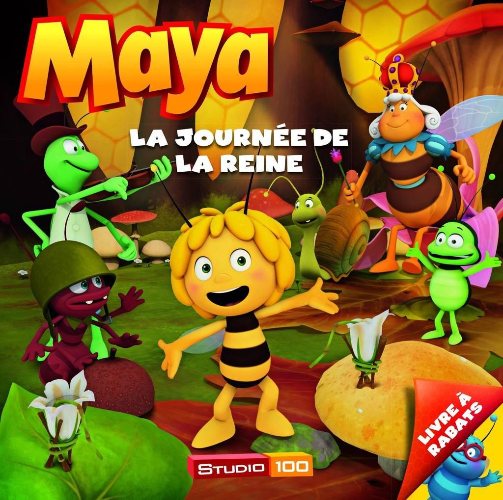 Livre Maya l'abeille - La journée de la Reine