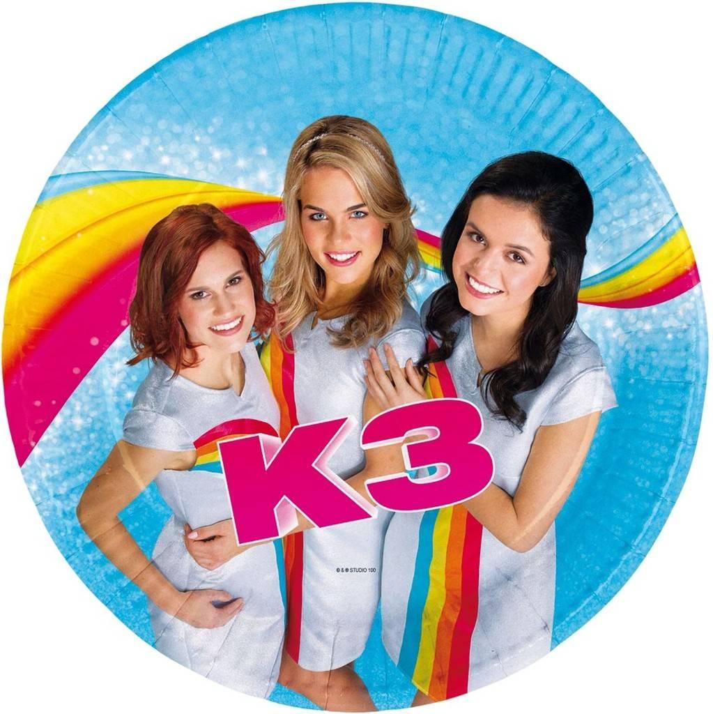 K3 Bordjes - 8 stuks