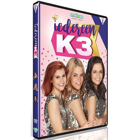 Dvd K3: iedereen K3 vol. 1