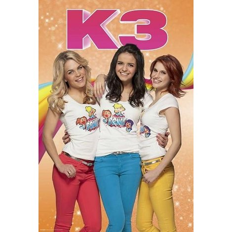 K3 Poster - Pow 61x92 cm