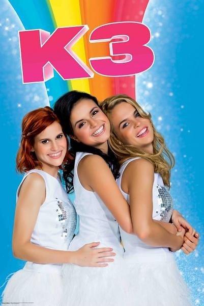 K3 Poster-  Regenboog 61x92 cm