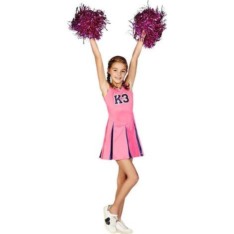 Verkleedjurk K3: cheerleader