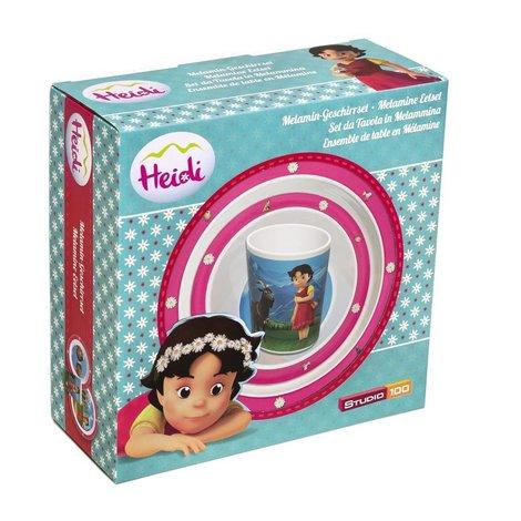 Eetsetje Heidi: 3-delig