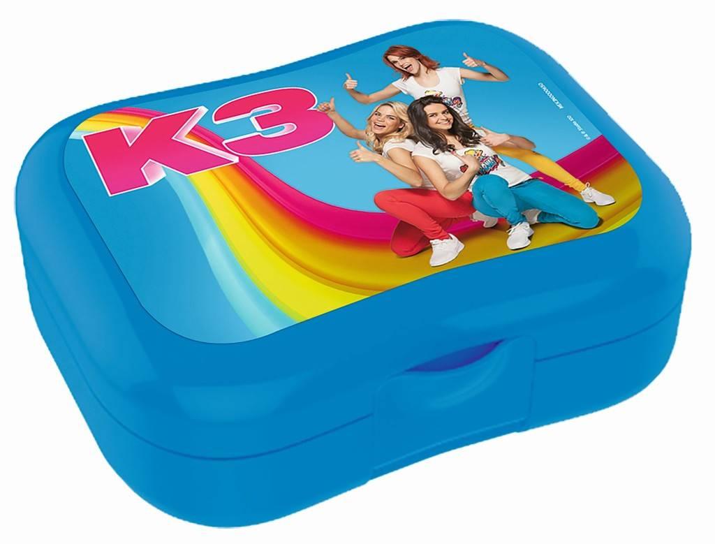 Lunchbox K3 blauw