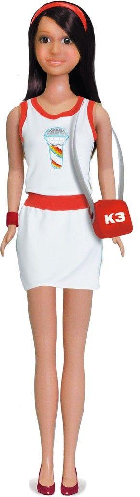 K3 Kleding tienerpop jurkje - Wit