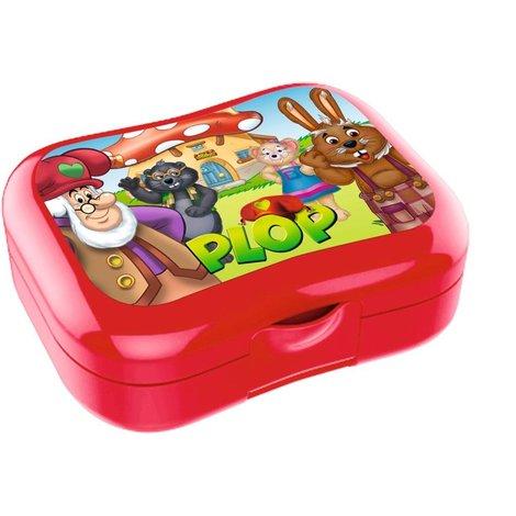 Lunchbox Plop en de Peppers rood
