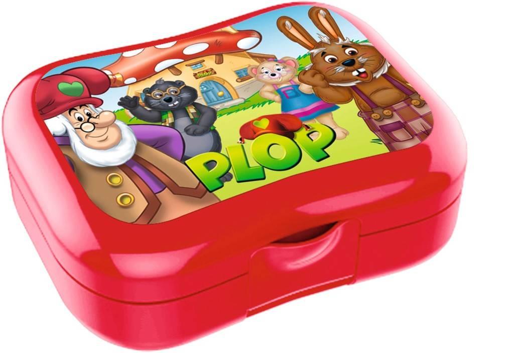 Plop en de Peppers Lunchbox - Rood
