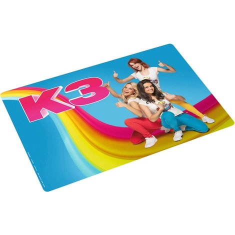 Placemat K3 blauw