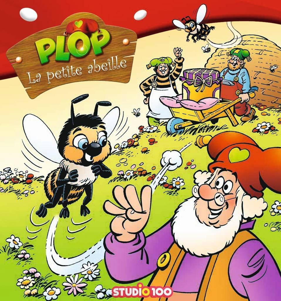 Livre Plop: La petite abeille